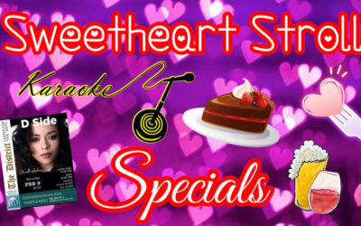 Sweetheart Stroll Specials